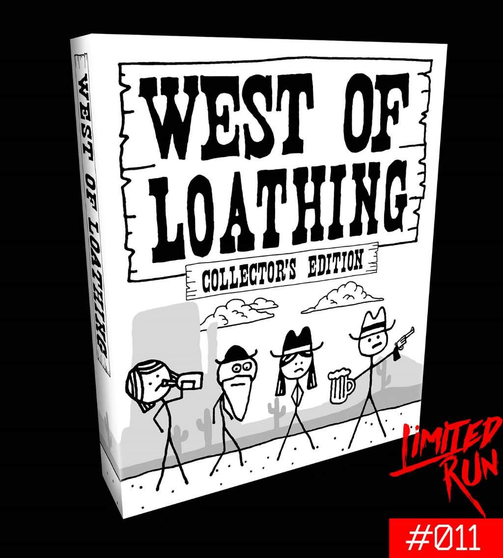 West of Loathing Collector's Edition (Limited Run #011) - Nintendo Switch