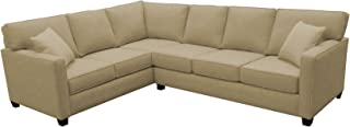 product image for BuildASofa Canwick Large L Sectional - Left Facing (Bennett Oat)
