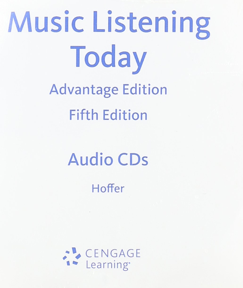 Read Online 4-CD Set for Hoffer's Music Listening Today, Cengage Advantage Edition, 5th ebook
