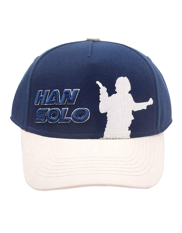 Star Wars Gorra de Beisbol Han Solo Silhouette Rebel Logo Nuevo ...