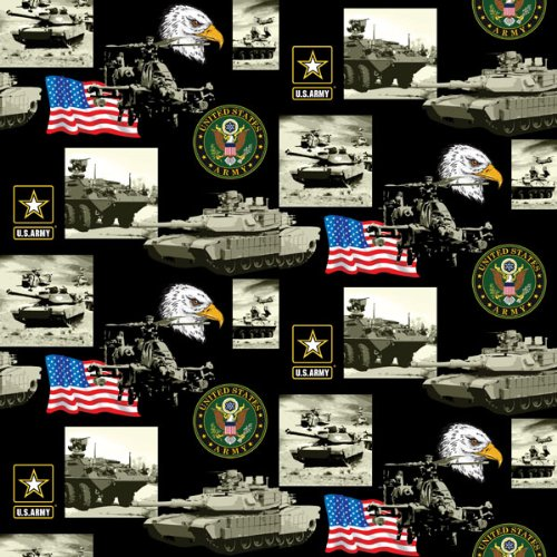 Army Cotton Fabric-100% cotton college fabric by SYKEL