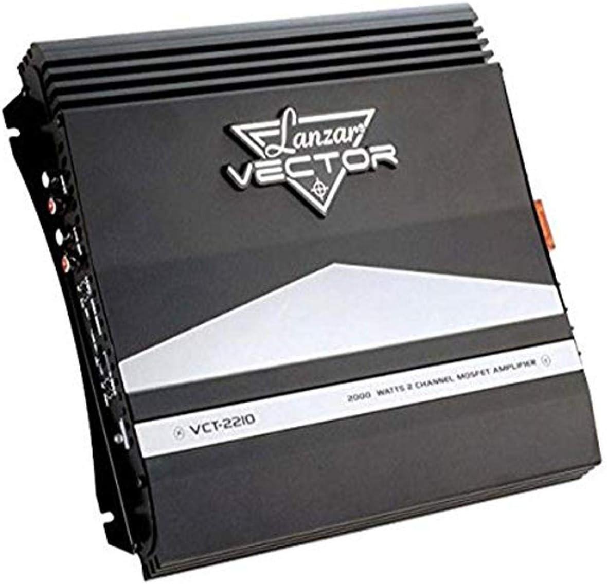Lanzar VCT4110 4 Channel Amp High Power 2000 Watt