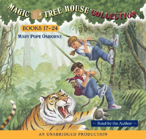 Magic Tree House Boxed Set, Books 17-24 (Tonight on the Titanic, Buffalo Before Breakfast, Tigers at Twilight, Dingoes at Dinnertime, Civil War on Sunday, Revolutionary War on Wednesday, Twister on Tu - Book  of the Magic Tree House