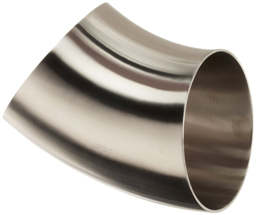 6 6 Steel and Obrien 2WK-6-1-316 Stainless Steel Weld Short 45 degree Elbow