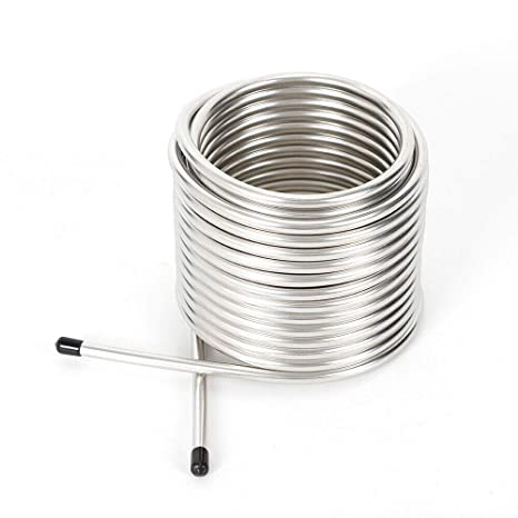 Tubo de bobina de refrigeración, tubo de acero inoxidable ...