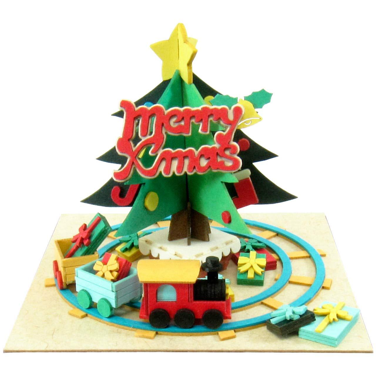 Mini Weihnachtsbaum und Minichua MP05-11 (Paper (Paper (Paper Craft) (Japan-Import) B00FXKABOM   Ausgezeichnet (in) Qualität  818e7a