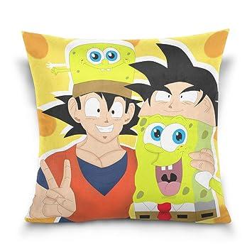 Amazon.com: Spongebob - Fundas de almohada decorativas con ...