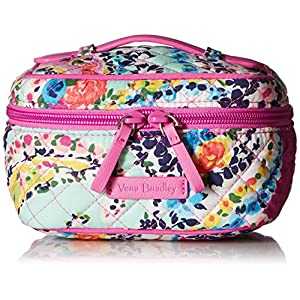 Vera Bradley Iconic Jewelry Case, Signature Cotton, Wildflower Paisley