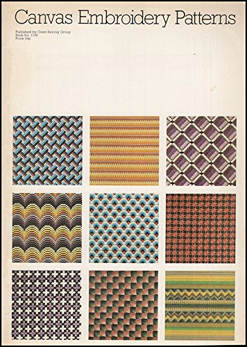 - Canvas Embroidery Patterns (Book 1198)