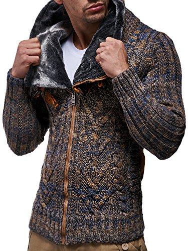 Nelson Sweater Leif Nelson Sweater Braun Leif Braun p8SFBTqw