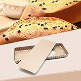 MZCH Non-Stick Removable Loose Bottom Quiche Tart