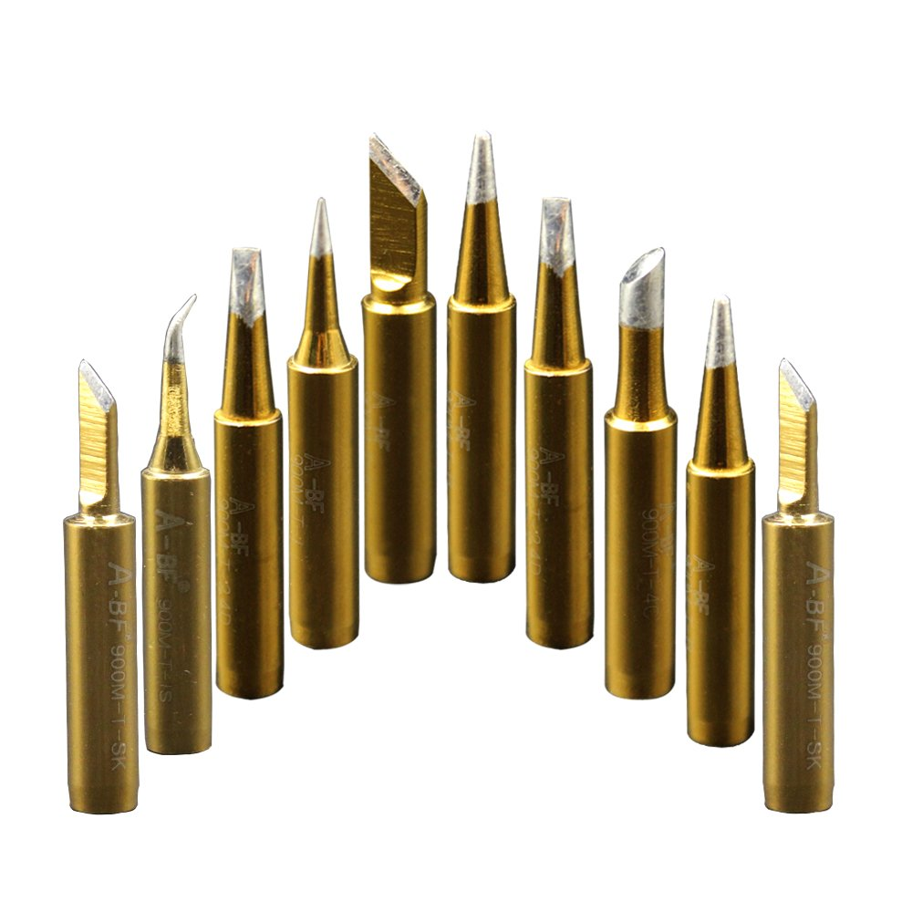 a bf 10pcs 900m soldering iron tips for hakko radio shack tenma atten quic. Black Bedroom Furniture Sets. Home Design Ideas