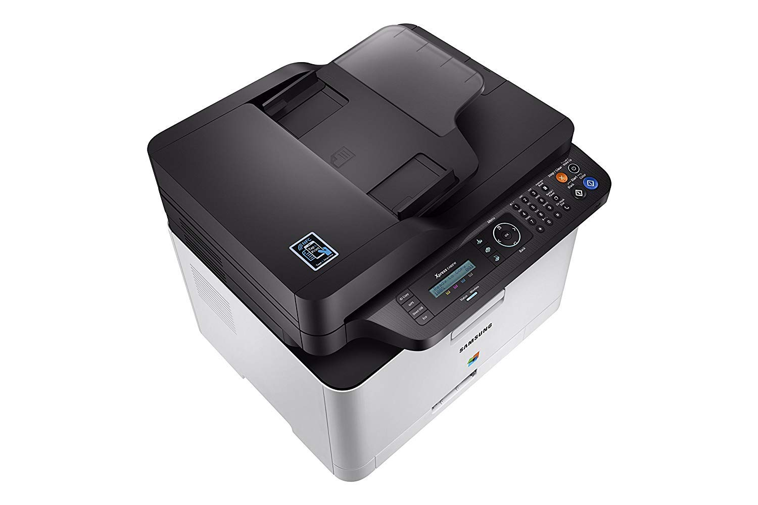 Dash Replenishment Enabled Samsung SS256H#BGJ Electronics Xpress SL-C480FW//XAA Wireless Color Printer with Scanner Copier /& Fax