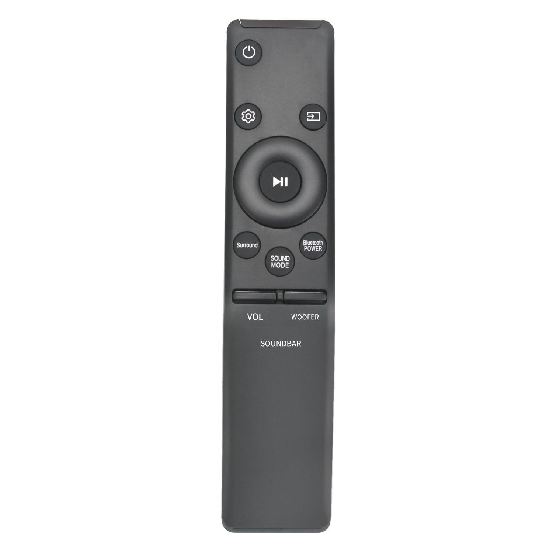 AH59-02758A Replace Remote fit for Samsung Soundbar HW-M450 HW-M4500 HW-M4501 HW-M550 HW-M430 HW-M360 HW-M370 HW-M370/ZA HW-M450/ZA HW-M4500/ZA HW-M4501/ZA HW-M550/ZA HW-M430/ZA HW-M360/ZA HW-MM55