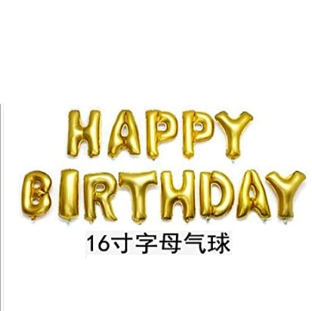 Carta de cumpleaños cumpleaños globo de aluminio globo de ...