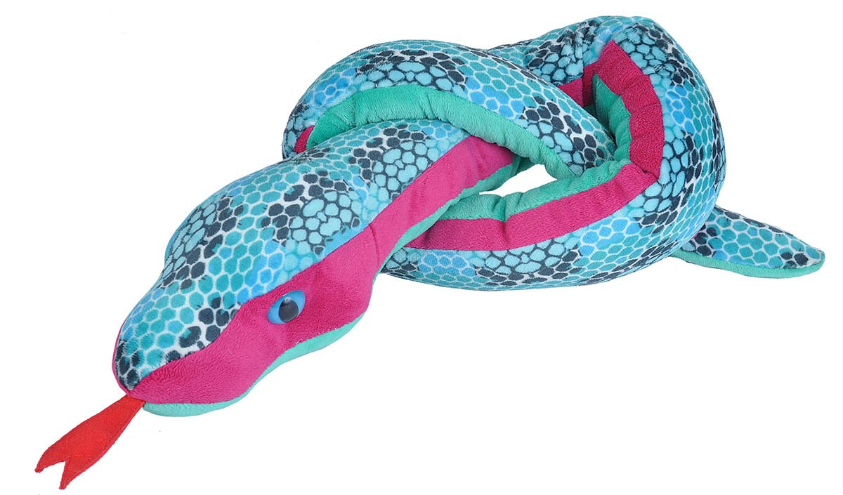 Wild Republic Snakes Snake Plush Stuffed Animal Skeleton Diagram Find The Incredible Toy Gifts For Kids Ball Python 54 Inches Toys Games
