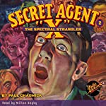 The Spectral Strangler: Secret Agent X #2 March 1934 | Brant House,Paul Chadwick, Radio Archives