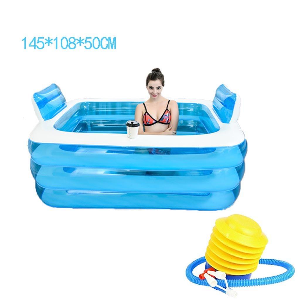 GYP Pliegue de plástico inflado bañera más gruesa ...