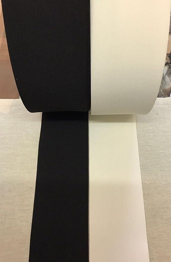 Gummiband 80 mm wei/ß