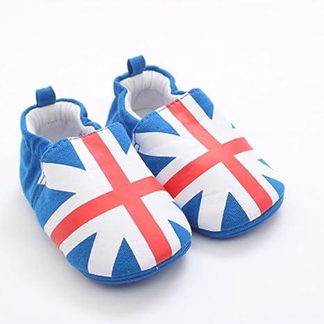 biaozh recién nacido bebé Niños y Niñas pre-walking zapatos para 8 ...