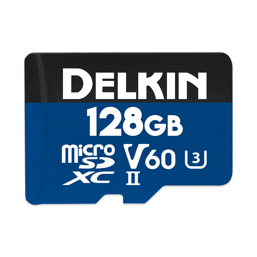 Delkin DDMSDB19001H Devices 128GB Prime microSDXC UHS-II (U3/V60) Memory Card by Delkin