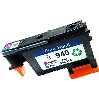 studyset 940cabezal de repuesto para HP 8000/HP 85008500A cabezal de impresión, C4900A, Rojo/Azul