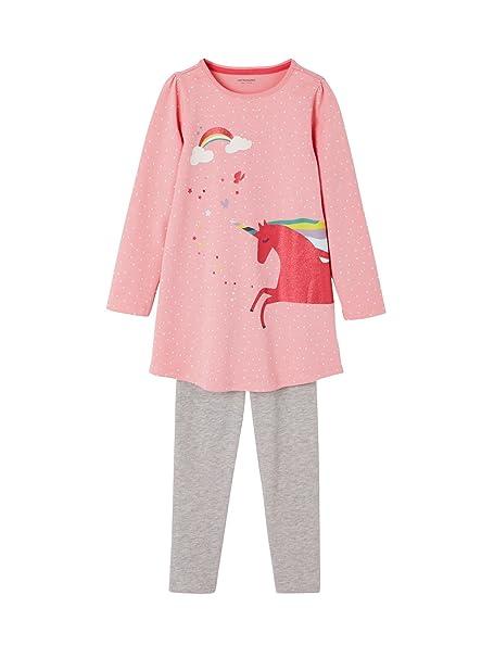 VERTBAUDET Camisón + leggings niña Rosa Medio Estampado 14A: Amazon.es: Ropa y accesorios