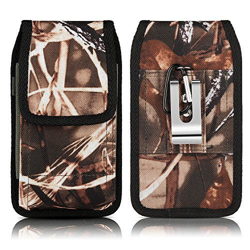 iPhone7 Vertical Camouflage Carabiner Cellphone