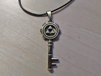 Amazon.com: Zelda collar – Esqueleto Clave Collar – Collar ...