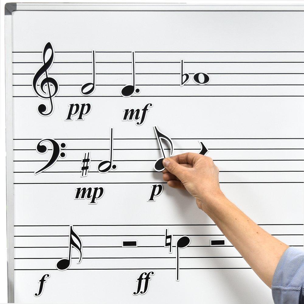 Amazon com: Chamberlain Music WMN10 Magnetic Music Symbol
