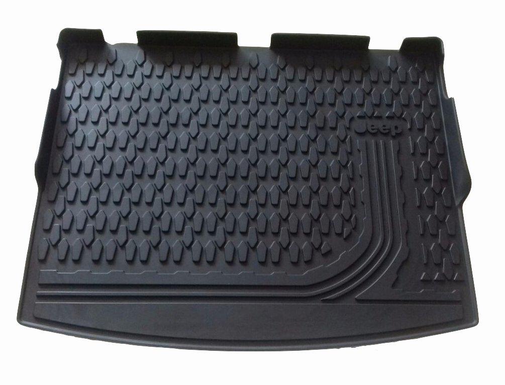 Teppich-Fußmatten Teppich 4 Logos 4 Befestigen Jeep Compass 2017