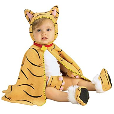 Amazon easy infant baby tiger costume cape 3 12 months clothing easy infant baby tiger costume cape 3 12 months solutioingenieria Gallery