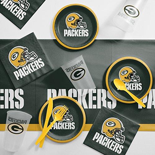 Creative Converting Green Bay Packers Tailgating Kit -