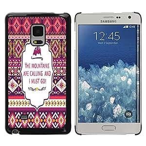 Dragon Case - FOR Samsung Galaxy Mega 5.8 - Don't be limited - Caja protectora de pl??stico duro de la cubierta Dise?¡Ào Slim Fit