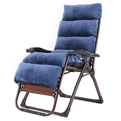 Amazon.com: Sillón reclinable plegable verano siesta oficina ...