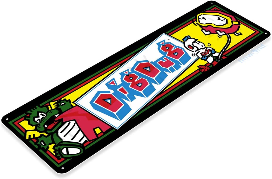 TIN SIGN Donkey Kong Arcade Shop Game Room Marquee Console Metal Décor A331