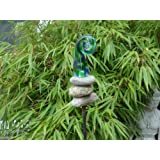 Gartner Potschke Glaskunst Stecker Picasso Skulptur Inkl Stab