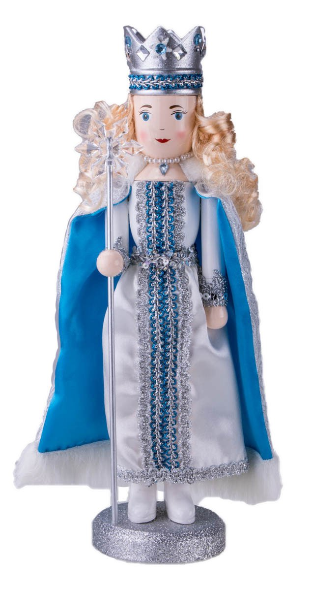 Traditional Snow Queen Nutcracker by Clever