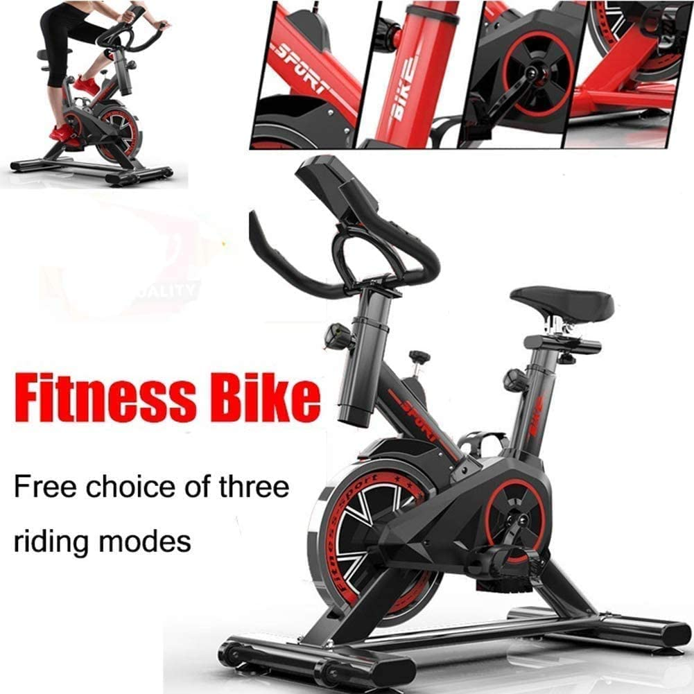 Dnyker Professional Exercise Bike,Home Fitness Bike for Weight Loss,with LCD Monitor,Comfortable Seat Cushion,Indoor Silent Fitness Equipment Indoor Fitness: Amazon.es: Deportes y aire libre