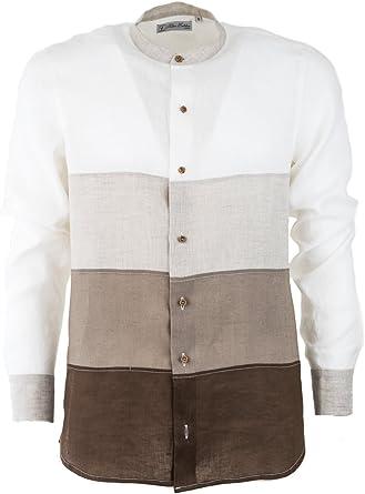 Silvano Calabrese Camisa Casual - Manga Larga - para Hombre