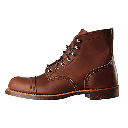 Red Wing, botas Iron Ranger 8111, de color ámbar, color Marrón, talla