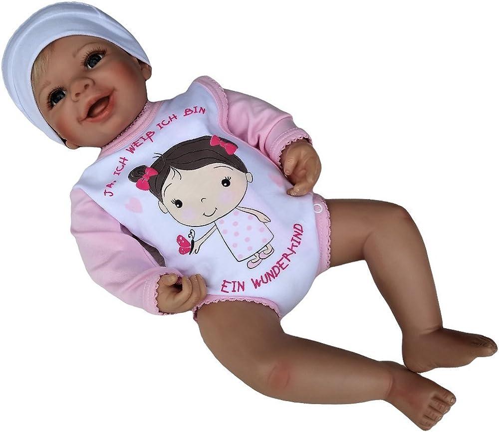 Baby Wickelbody Jungen Baby Wickelbody M/ädchen MEA BABY Unisex Baby Langarm Wickelbody mit Aufdruck 5er Pack
