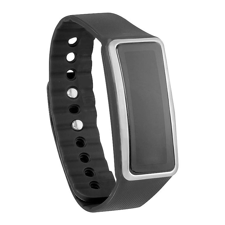 Vivitar TYL-5100 Wireless Activity Tracker Watch, Black