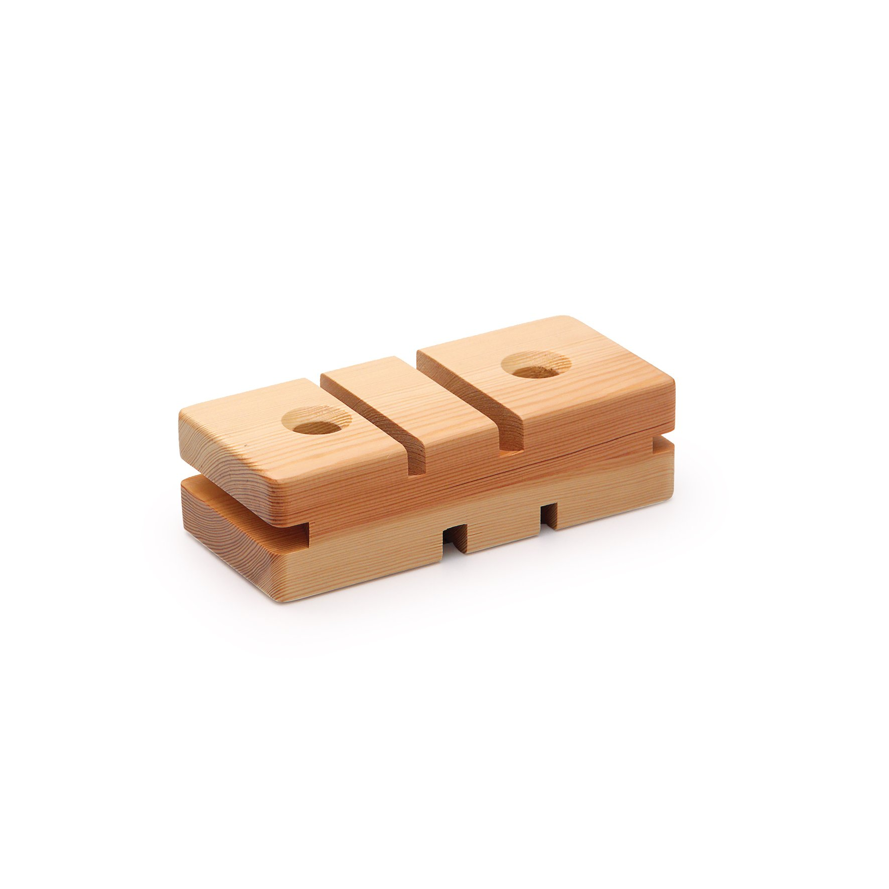 Erzi 24 5 x 11 x 7 cm German Wooden Toy Gymnastic Block