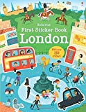 First Sticker Book London (First Sticker Books): Written by James Maclaine, 2014 Edition, Publisher: Usborne Publishing Ltd [Paperback]