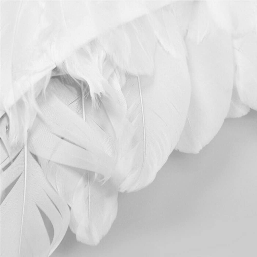 Yours Bath Angel Fairy Wings Adult Cupid Wings 1 Pcs, White Fairy Large Feather Wings for Halloween Fancy Dress Party Costume