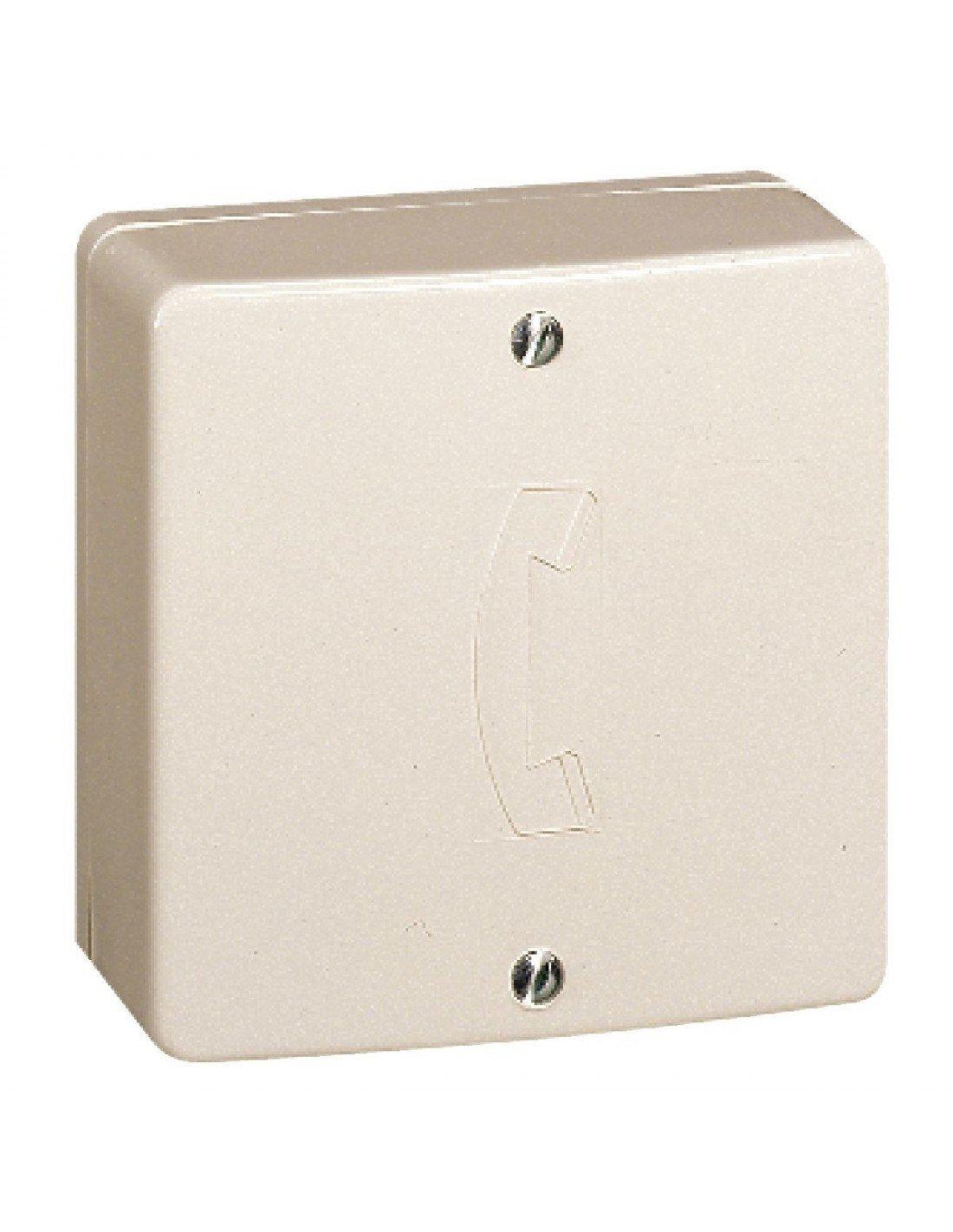 Legrand LEG91090 - Caja repartidora (para conectar hasta 10 tomas telefó nicas en 1 lí nea)