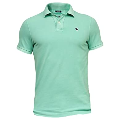 Super Qualität Straßenpreis geringster Preis Abercrombie Herren New Icon Muscle Fit Polo Poloshirt ...