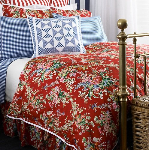 Red Floral Duvet Cover Roselawnlutheran