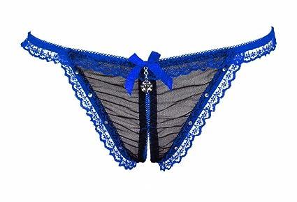 57aa6650d265 Haliluya Tangas de Encaje G-String Ropa Interior Bragas para Mujer ...